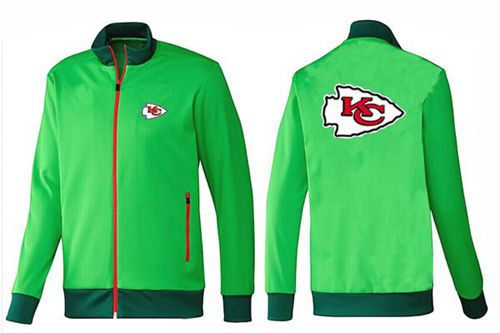 NFL Kansas City Chiefs Team Logo Jacket Green