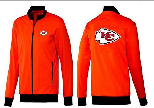 NFL Kansas City Chiefs Team Logo Jacket Orange