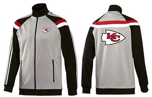 NFL Kansas City Chiefs Team Logo Jacket Grey