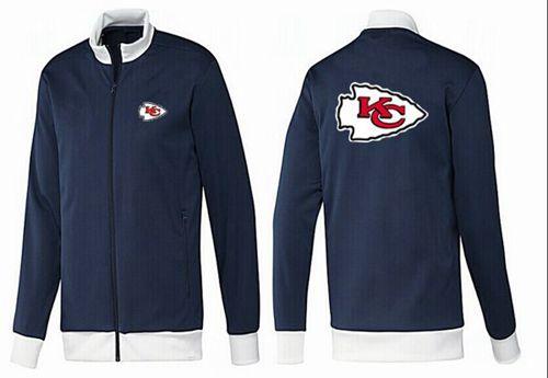 NFL Kansas City Chiefs Team Logo Jacket Dark Blue