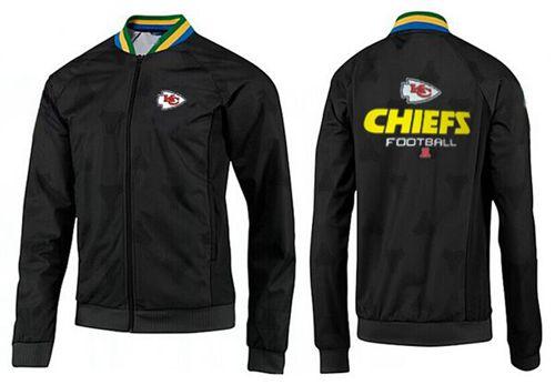 NFL Kansas City Chiefs Victory Jacket Black_1