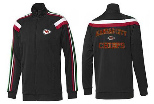 NFL Kansas City Chiefs Heart Jacket Black_1