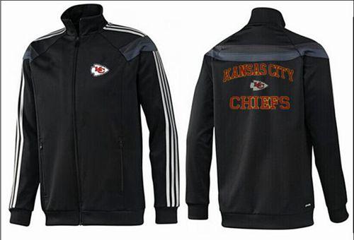 NFL Kansas City Chiefs Heart Jacket Black_2