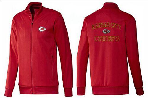 NFL Kansas City Chiefs Heart Jacket Red