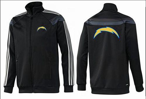 NFL Los Angeles Chargers Team Logo Jacket Black