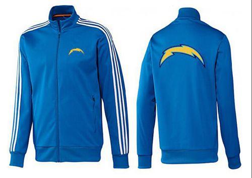 NFL Los Angeles Chargers Team Logo Jacket Blue_3