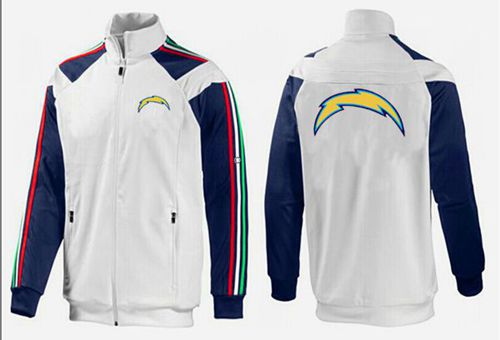 NFL Los Angeles Chargers Team Logo Jacket White