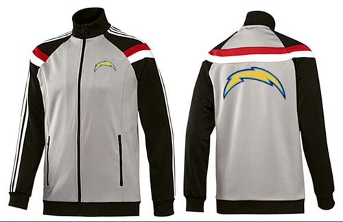 NFL Los Angeles Chargers Team Logo Jacket Grey