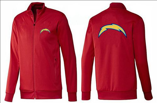 NFL Los Angeles Chargers Team Logo Jacket Red