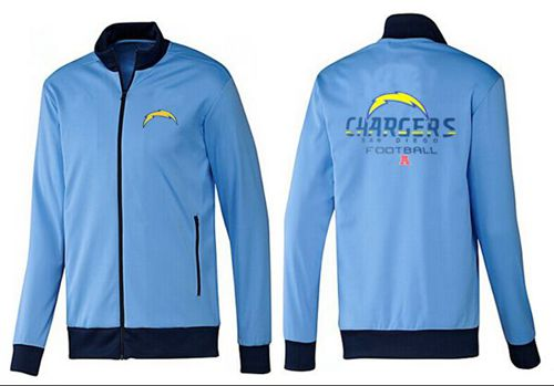 NFL Los Angeles Chargers Victory Jacket Light Blue