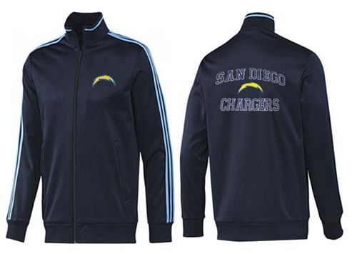 NFL Los Angeles Chargers Heart Jacket Dark Blue