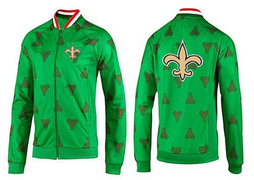 NFL New Orleans Saints Team Logo Jacket Green