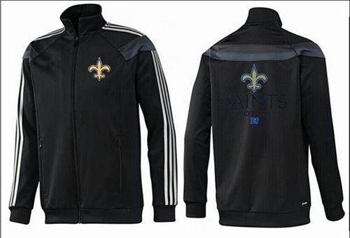 NFL New Orleans Saints Victory Jacket Black_1