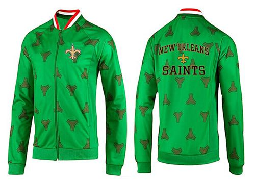 NFL New Orleans Saints Heart Jacket Green