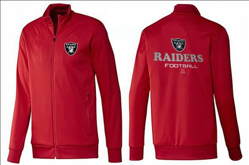 NFL Oakland Raiders Victory Jacket Red