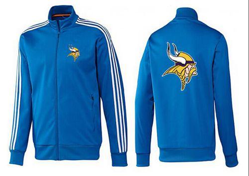 NFL Minnesota Vikings Team Logo Jacket Blue_1