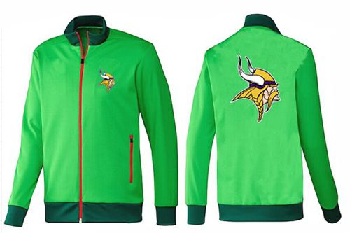 NFL Minnesota Vikings Team Logo Jacket Green