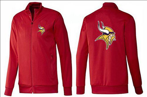 NFL Minnesota Vikings Team Logo Jacket Red