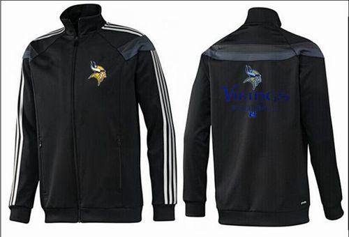 NFL Minnesota Vikings Victory Jacket Black_2