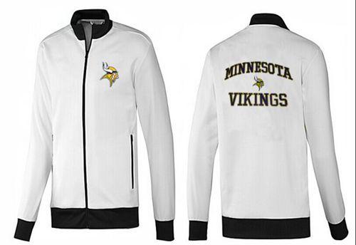 NFL Minnesota Vikings Heart Jacket White