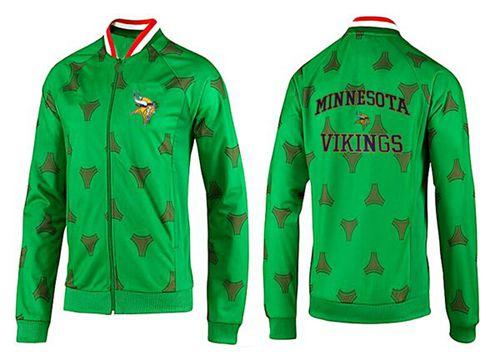 NFL Minnesota Vikings Heart Jacket Green