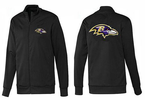 NFL Baltimore Ravens Team Logo Jacket Black_1
