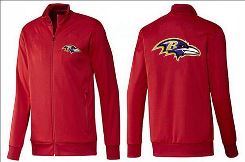 NFL Baltimore Ravens Team Logo Jacket Red
