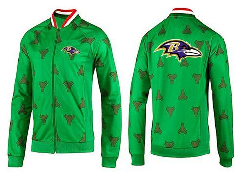 NFL Baltimore Ravens Team Logo Jacket Green