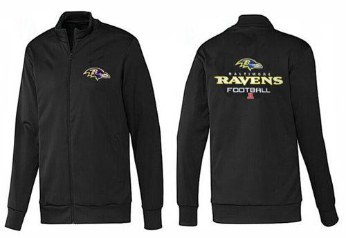 NFL Baltimore Ravens Victory Jacket Black_1