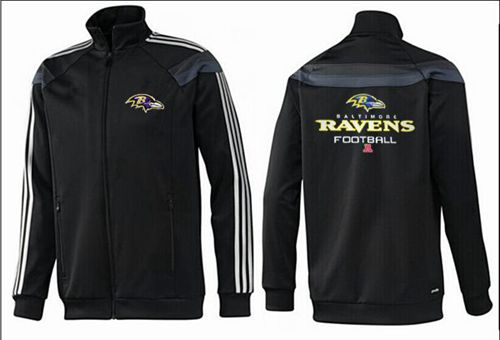 NFL Baltimore Ravens Victory Jacket Black_2