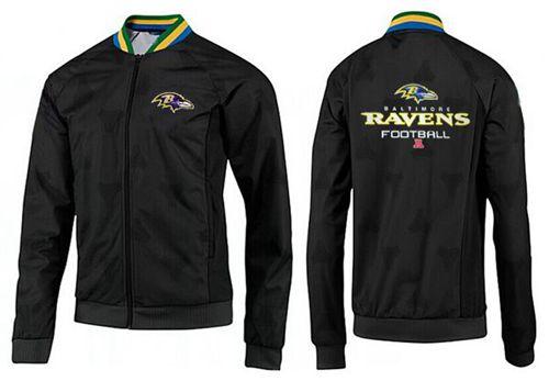 NFL Baltimore Ravens Victory Jacket Black_3