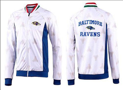 NFL Baltimore Ravens Heart Jacket White