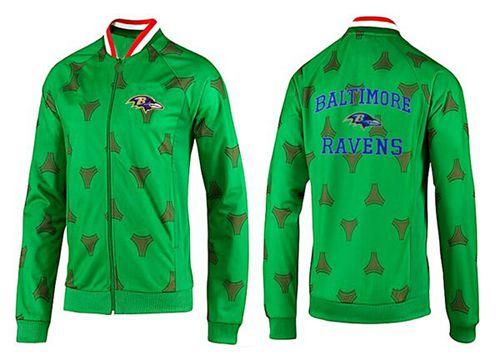 NFL Baltimore Ravens Heart Jacket Green