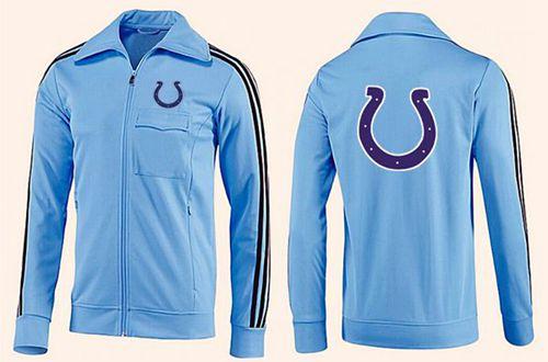NFL Indianapolis Colts Team Logo Jacket Light Blue_2