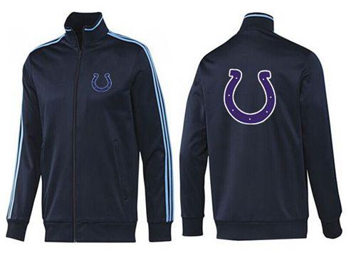 NFL Indianapolis Colts Team Logo Jacket Dark Blue
