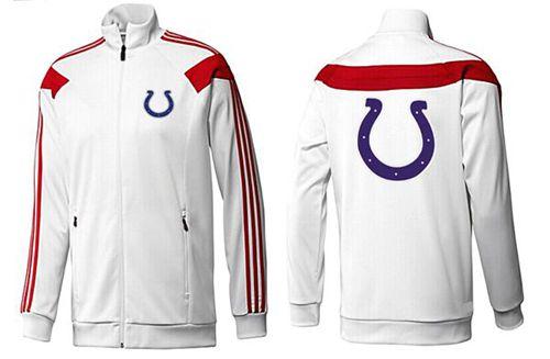 NFL Indianapolis Colts Team Logo Jacket White