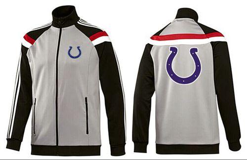 NFL Indianapolis Colts Team Logo Jacket Grey
