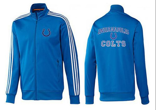 NFL Indianapolis Colts Heart Jacket Blue_2