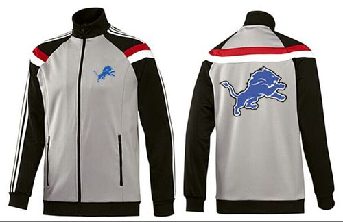 NFL Detroit Lions Team Logo Jacket Grey