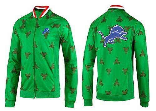 NFL Detroit Lions Team Logo Jacket Green
