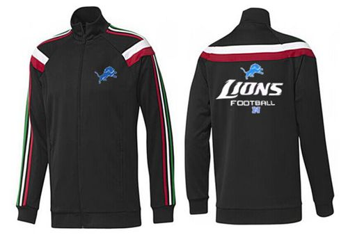 NFL Detroit Lions Victory Jacket Black