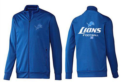 NFL Detroit Lions Victory Jacket Blue_1