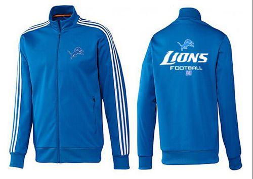 NFL Detroit Lions Victory Jacket Blue_2