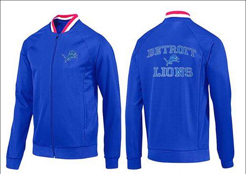 NFL Detroit Lions Heart Jacket Blue_1