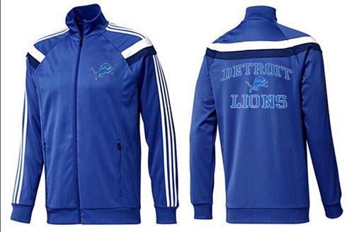 NFL Detroit Lions Heart Jacket Blue_3