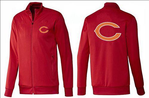NFL Chicago Bears Team Logo Jacket Red
