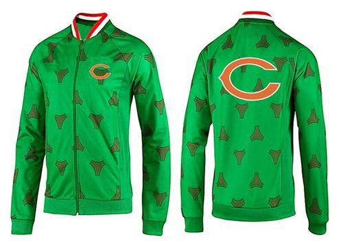 NFL Chicago Bears Team Logo Jacket Green