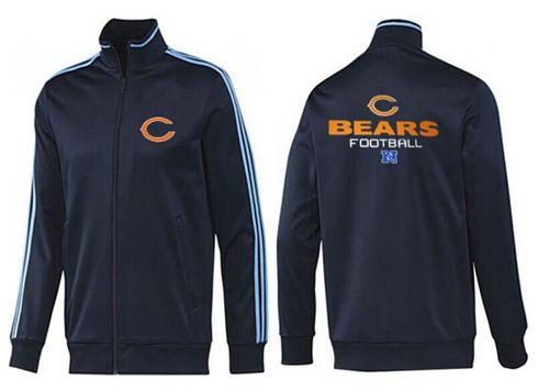 NFL Chicago Bears Victory Jacket Dark Blue_2