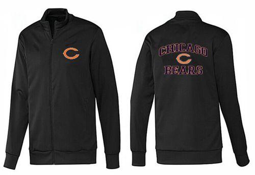 NFL Chicago Bears Heart Jacket Black