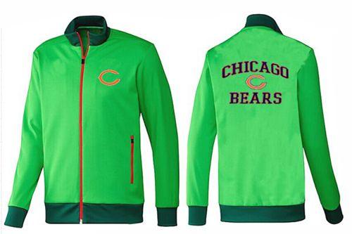 NFL Chicago Bears Heart Jacket Green